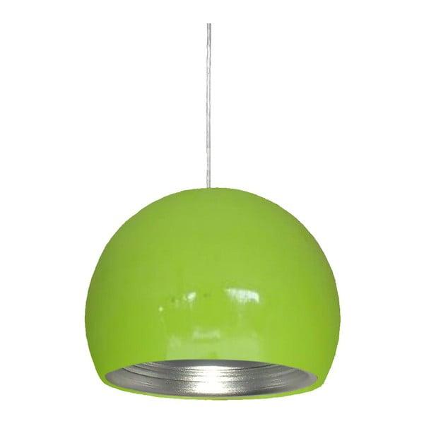 Lampa sufitowa Pictor, zielona
