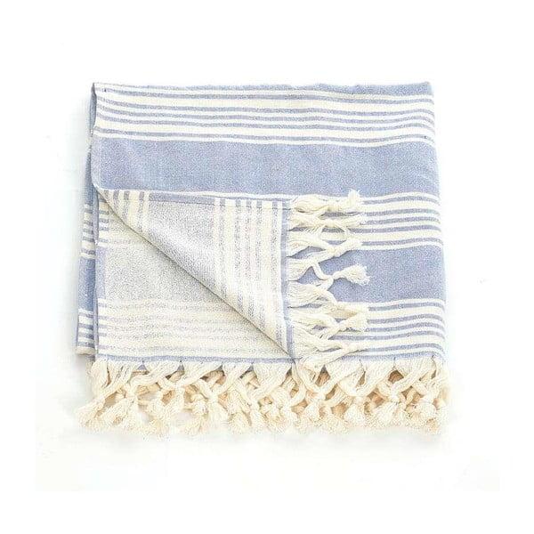 Ręcznik hammam Pestemal Blue Ivory