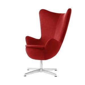 Czerwony fotel obrotowy My Pop Design Monory