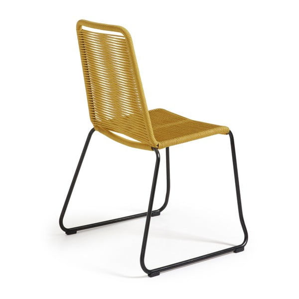 Krzesło Maegan, musztardowe