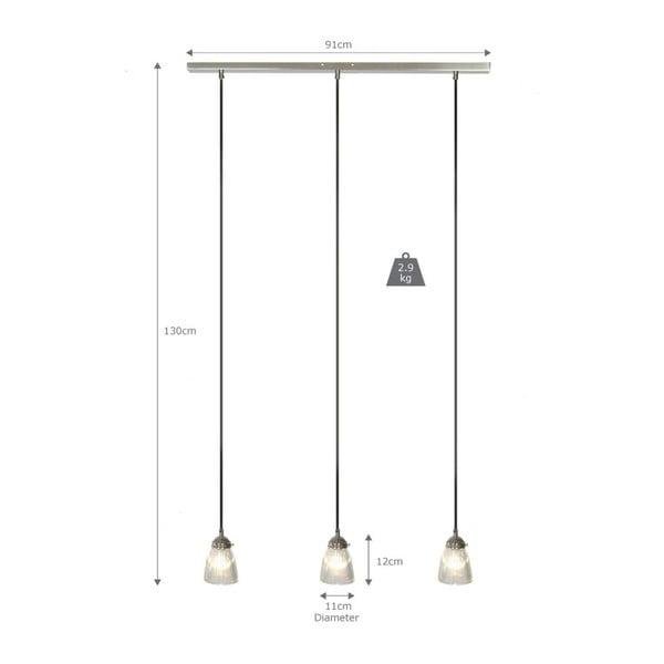 Lampa sufitowa Trio Paris LIghts
