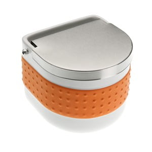 Pomarańczowy pojemnik na sól Versa Celler