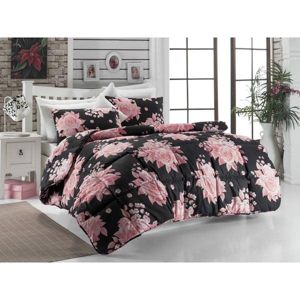 Narzuta na łóżko jednoosobowe Rengigul Black, 155x215 cm