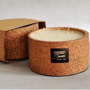 Palmowa świeczka Legno Palm o zapachu wanilii i paczuli, 120 godz.