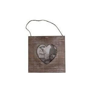 Drewniana ramka na zdjęcia Wooden Love