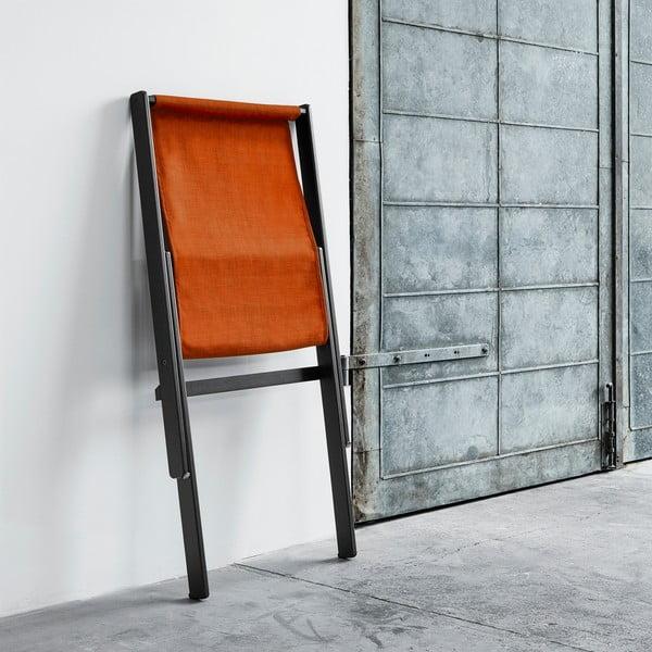 Fotel składany Karup Boogie Black/Orange