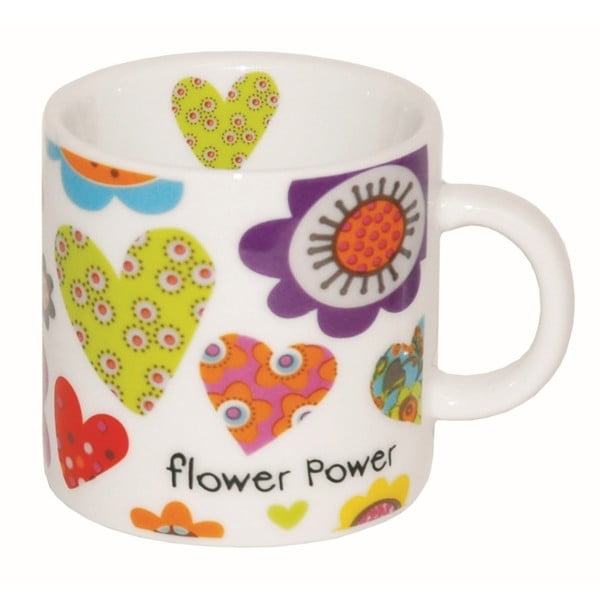 Mały   kubek Flower Power, 100 ml