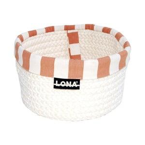 Koszyk Lona, beżowy