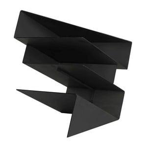 Stojak na gazety Origami Black