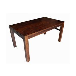 Rozkładany stół z palisandru Indigodecor, 120-210 cm