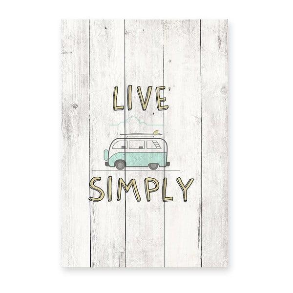 Tablica ścienna Live Simply
