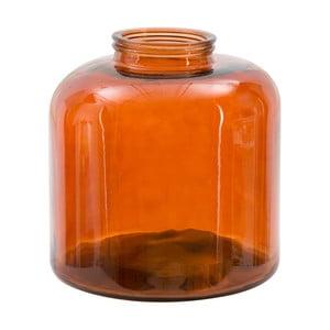 Czerwony wazon ze szkła z recyklingu Mauro Ferretti Put, wys.36cm