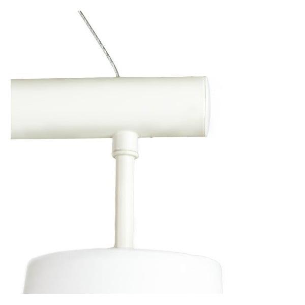 Wiszący zestaw lamp Elements White