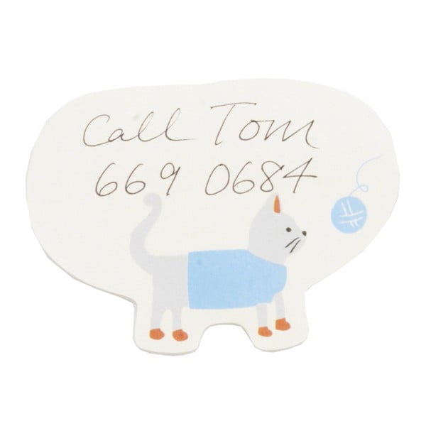 Karteczki   samoprzylepne Busy B Sticky Cat