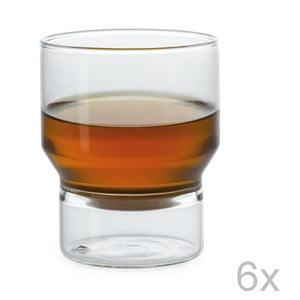 Zestaw 6 szklanek Pure