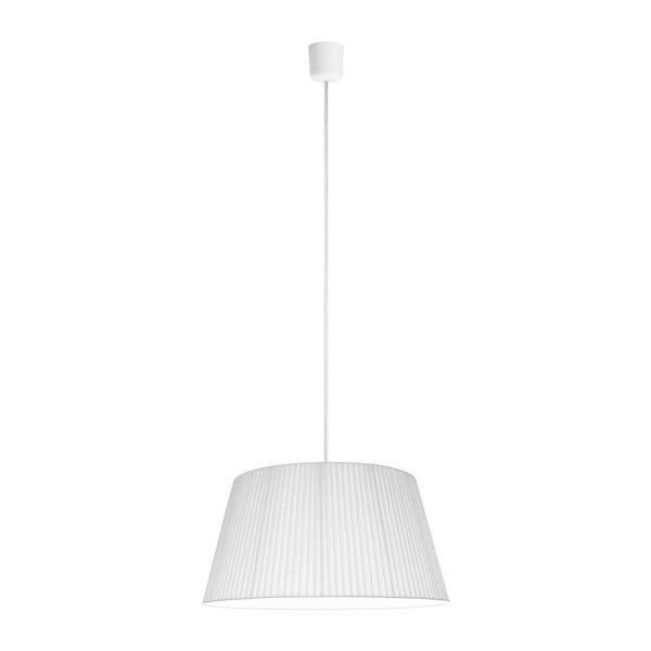 Biała   lampa wisząca Bulb Attack Dos Plisado ⌀ 45 cm