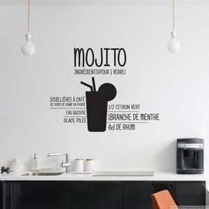 Naklejka Cocktail Mojito, 55x55 cm