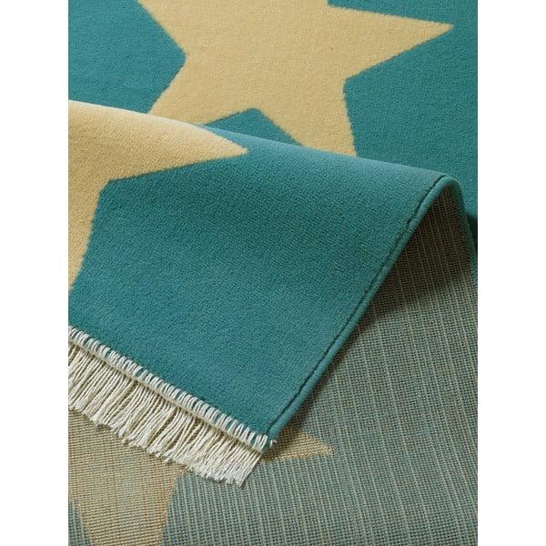 Niebieski dywan Hanse Home Stars, 80 x 200 cm
