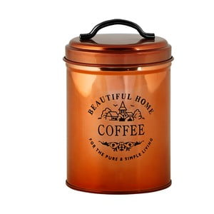 Miedziany pojemnik na kawę