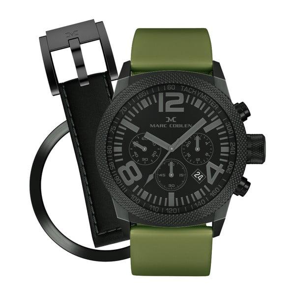 Zegarek unisex Marc Coblen z dodatkowym paskiem i obręczą P65