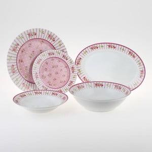 Komplet porcelany Pink Rose