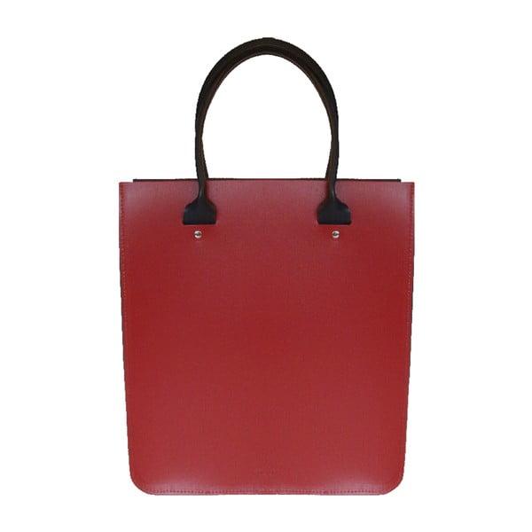Skórzana torebka Two Tone Red/Navy