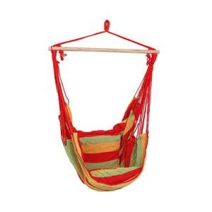 Czerwony podwieszany fotel ogrodowy ADDU Tobago
