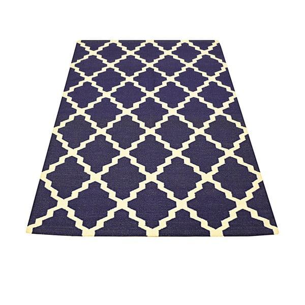 Ręcznie tkany dywan Kilim Aar Blue, 160x230 cm