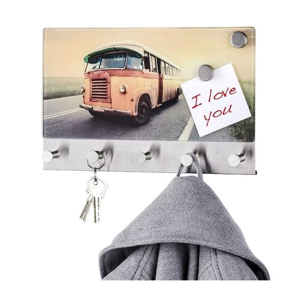 Magnetyczny wieszak na płaszcze Bus