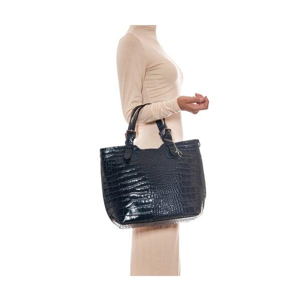 Skórzana torebka Renata Corsi 635 Blu