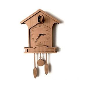 Kartonowy zegar Cuckoo clock