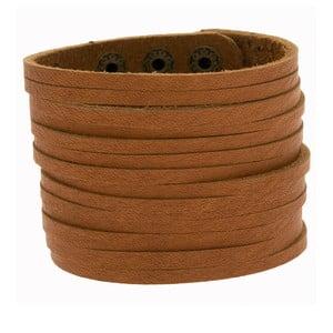 Bransoletka Wide Leather Strip