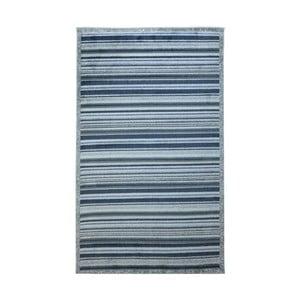 Niebiesko-szary dywan Webtappeti Lines, 137x200cm