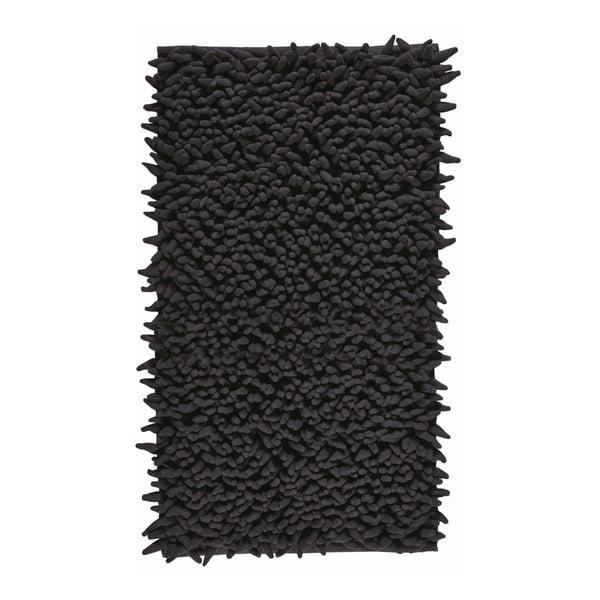 Dywanik łazienkowy Aquanova Ziza Black, 60x100 cm