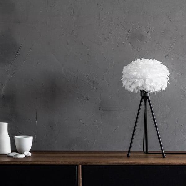 Czarny stołowy trójnożny stojak na lampę VITA Copenhagen, wys.36cm