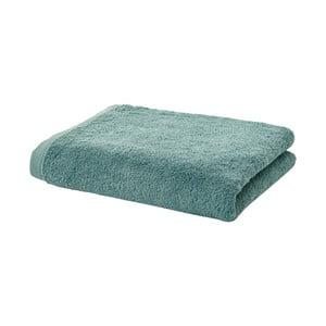 Zielony   ręcznik z egipskiej bawełny Aquanova London, 70x130 cm
