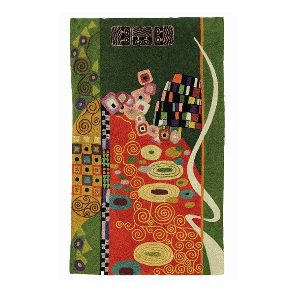 Dywan Klimt Brown/Green, 180x120 cm