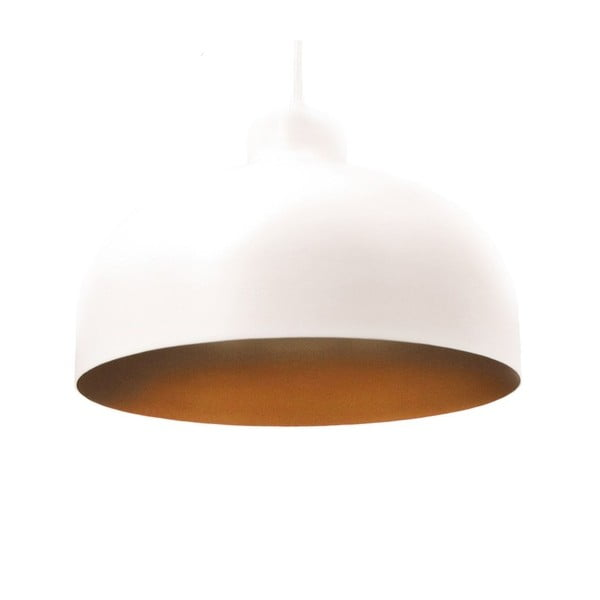 Biało-złota lampa wisząca Loft You B&B, 33 cm