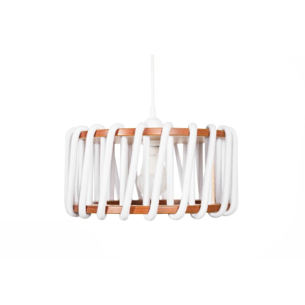 Biała lampa wisząca EMKO Macaron, ø 30 cm