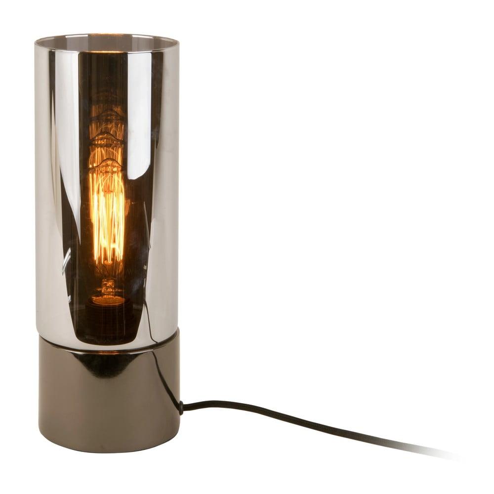 Lampa stołowa w metalicznym kolorze z lustrzanym połyskiem Leitmotiv Lax
