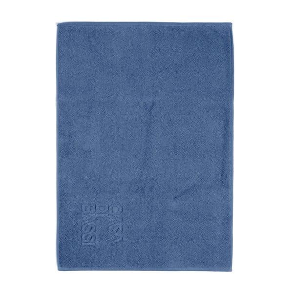 Niebieski dywanik łazienkowy z bawełny Casa Di Bassi Basic, 50x70 cm