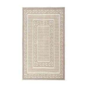 Kremowy dywan bawełniany Floorist Regi, 80x150cm