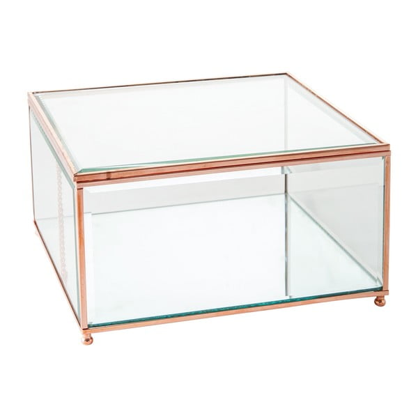 Szkatułka Jewel Glass, 23x23 cm