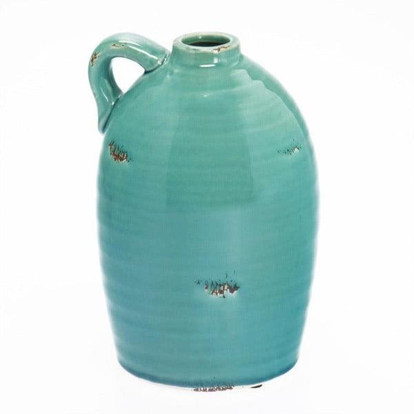 Ceramiczny wazon Turquoise Vase