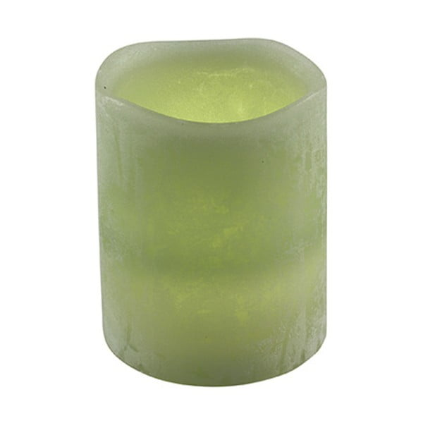 Świeczka LED Vorsteen Taper Moss, 15cm