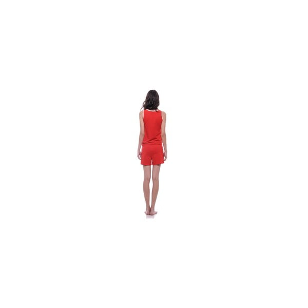 Krótki kombinezon bez rękawów Summer Red, M
