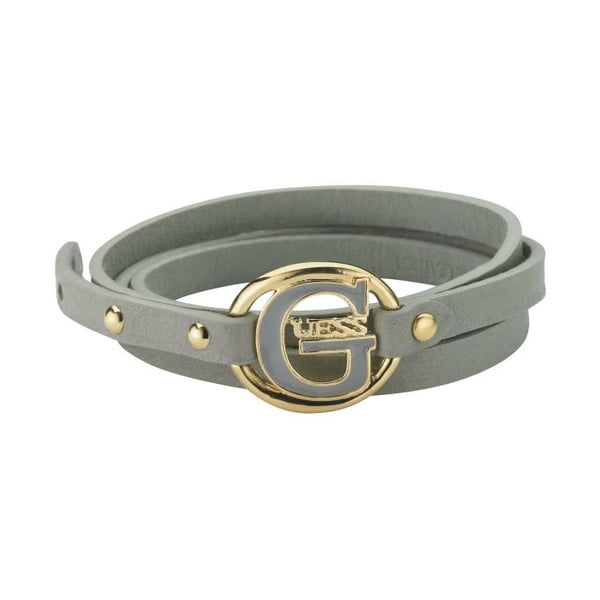 Bransoletka GUESS Grey Buckle