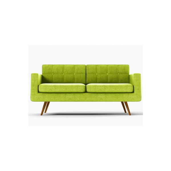 Sofa trzyosobowa  York Ibiza, zielona