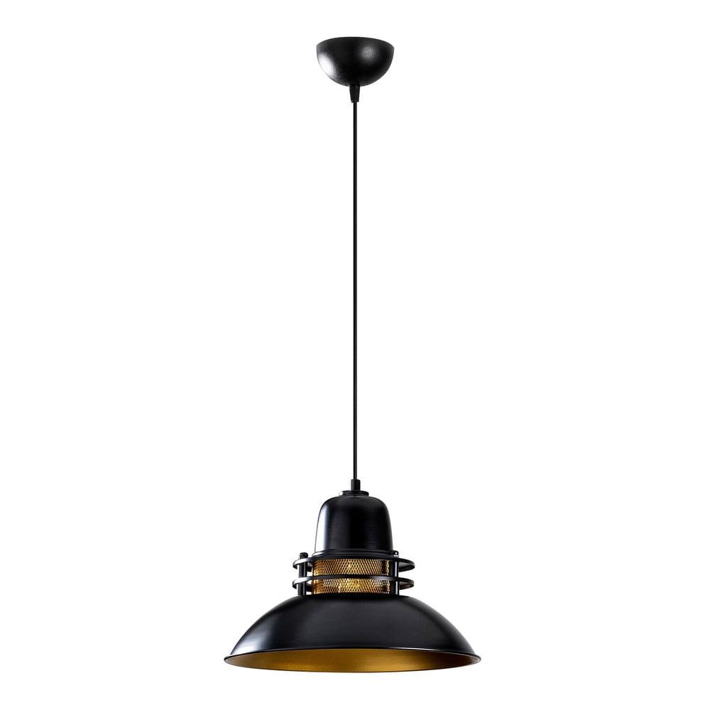 Czarna lampa wisząca Opviq lights Berceste, ø 34 cm