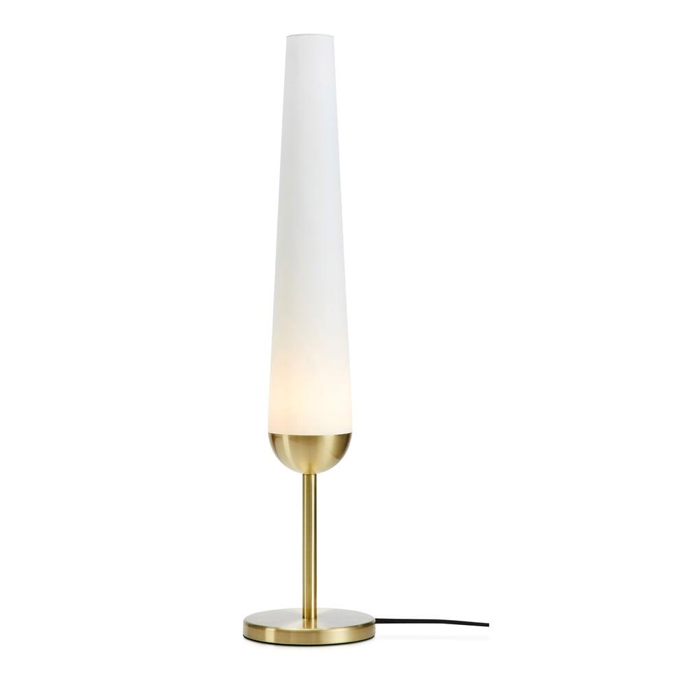 Lampa stołowa z podstawą w miedzianym kolorze Markslöjd Bern 1L